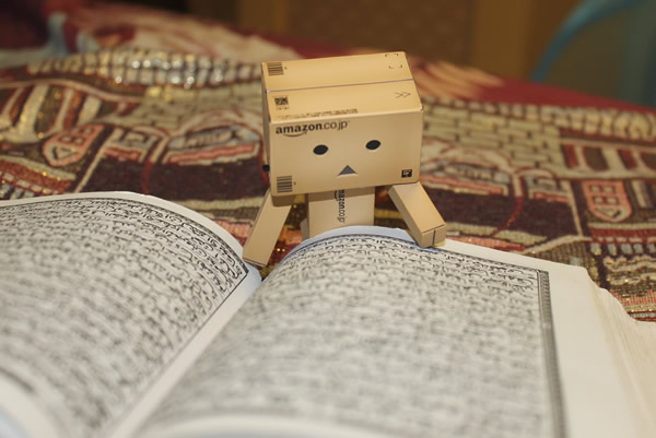 danbo baca Al-Qur'an